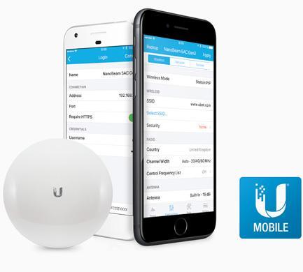 nanobeam features mobile