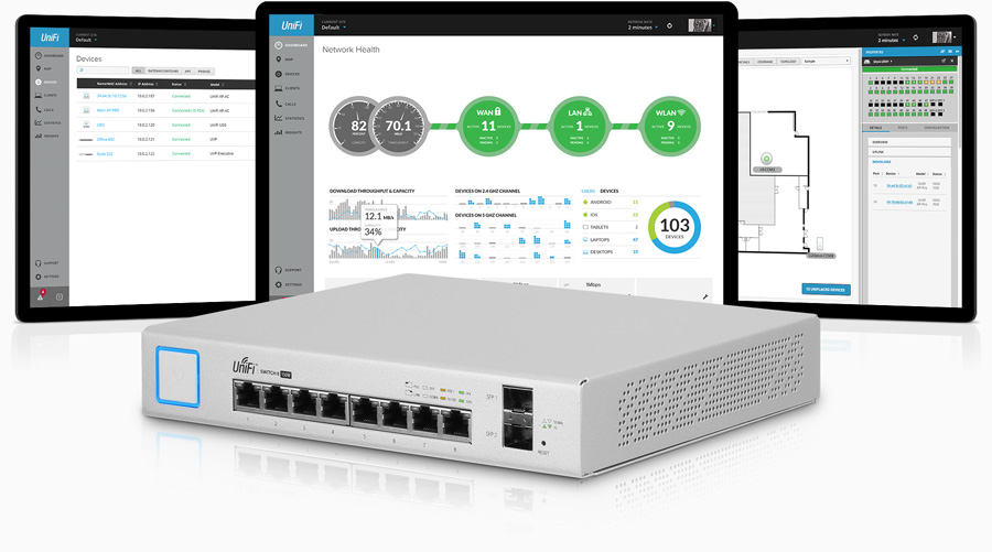 unifi switch 8 controller support v2