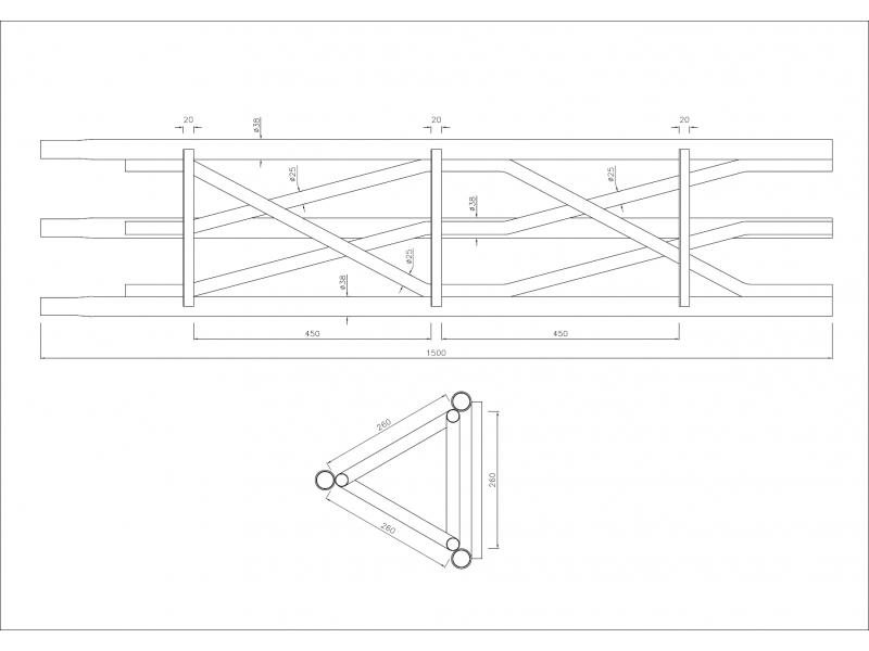 Plateforme Montage Pylone